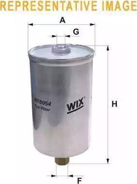 WIX Filters WF8182 - Паливний фільтр autocars.com.ua