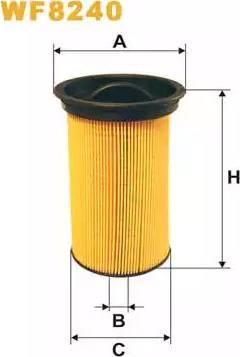 WIX Filters WF8240 - Паливний фільтр autocars.com.ua