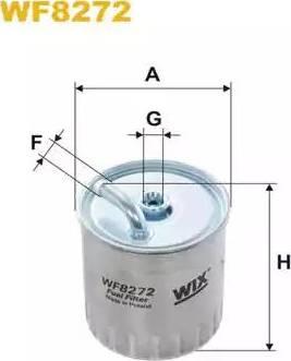 WIX Filters WF8272 - Паливний фільтр autocars.com.ua