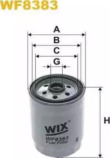 WIX Filters WF8383 - Паливний фільтр autocars.com.ua