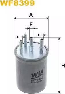 WIX Filters WF8399 - Паливний фільтр autocars.com.ua