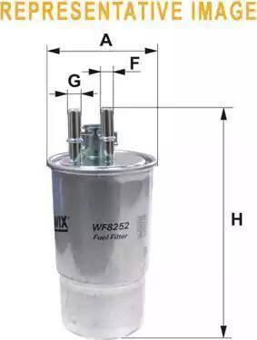WIX Filters WF8384 - Паливний фільтр autocars.com.ua