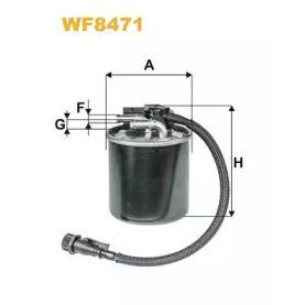 WIX Filters WF8471 - Паливний фільтр autocars.com.ua