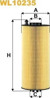 WIX Filters WL10235 - Масляний фільтр autocars.com.ua