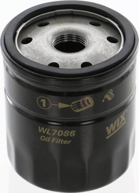 WIX Filters WL7086 - Масляний фільтр autocars.com.ua