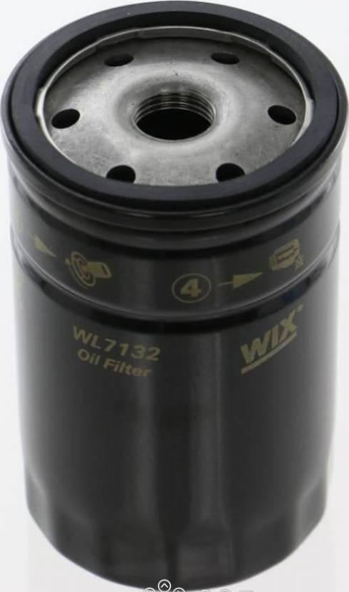 WIX Filters WL7132 - Масляний фільтр autocars.com.ua