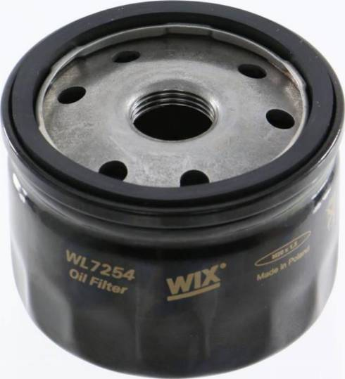 WIX Filters WL7254 - Масляний фільтр autocars.com.ua