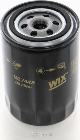 WIX Filters WL7448 - Масляний фільтр autocars.com.ua
