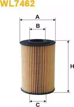 WIX Filters WL7462 - Масляний фільтр autocars.com.ua
