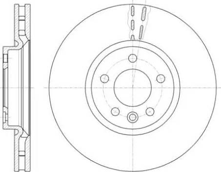 A.B.S. 18195 - Тормозной диск autodnr.net