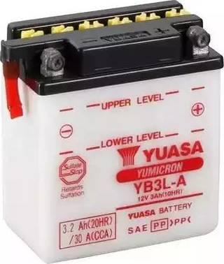 Yuasa YB3L-A - Startera akumulatoru baterija car-mod.com