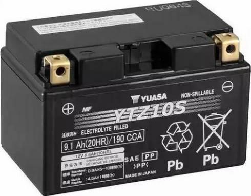 Yuasa YTZ10S - Стартерная аккумуляторная батарея, АКБ car-mod.com