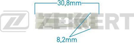 Zekkert BE2243 - Зажим, молдинг / защитная накладка car-mod.com