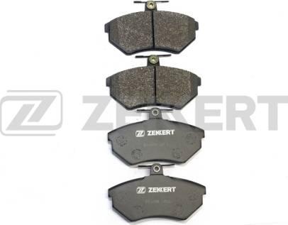 Zekkert BS-1098 - Комплект тормозных колодок, дисковый тормоз autodnr.net