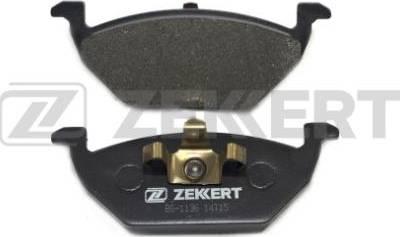 Zekkert BS-1136 - Комплект тормозных колодок, дисковый тормоз autodnr.net