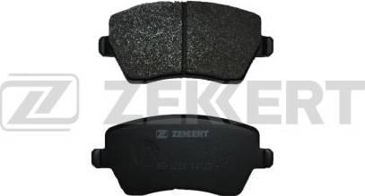 Zekkert BS-1221 - Комплект тормозных колодок, дисковый тормоз autodnr.net