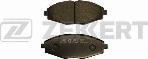 Zekkert BS-1285 - Комплект тормозных колодок, дисковый тормоз autodnr.net