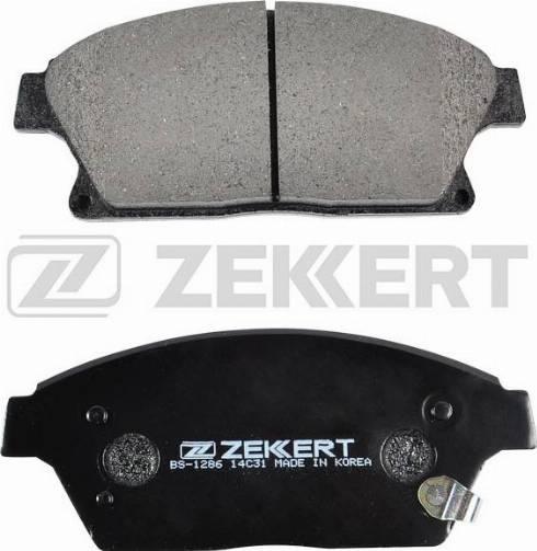 Zekkert BS-1286 - Тормозные колодки, дисковые car-mod.com