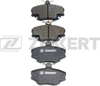 Zekkert BS-1482 - Комплект тормозных колодок, дисковый тормоз autodnr.net