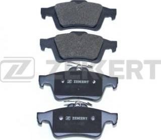 Zekkert BS-1600 - Комплект тормозных колодок, дисковый тормоз autodnr.net