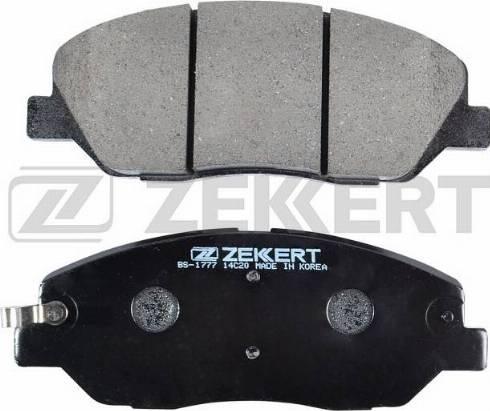 Zekkert BS-1777 - Комплект тормозных колодок, дисковый тормоз autodnr.net