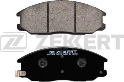 Zekkert BS-1804 - Комплект тормозных колодок, дисковый тормоз autodnr.net