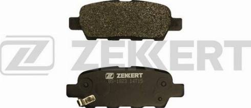 Zekkert BS-1823 - Комплект тормозных колодок, дисковый тормоз autodnr.net