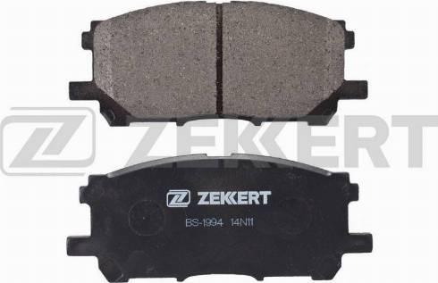 Zekkert BS-1994 - Тормозные колодки, дисковые car-mod.com