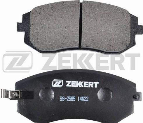 Zekkert BS-2585 - Тормозные колодки, дисковые car-mod.com