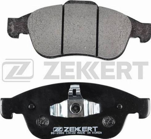 Zekkert BS-2800 - Тормозные колодки, дисковые car-mod.com