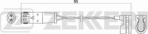 Zekkert bs8013 - Сигнализатор, износ тормозных колодок autodnr.net