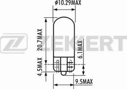 Zekkert lp-1022 - Лампа накаливания, стояночные огни / габаритные фонари autodnr.net