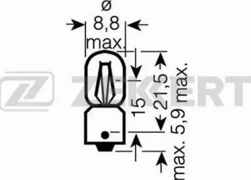 Zekkert lp-1029 - Лампа накаливания, стояночные огни / габаритные фонари autodnr.net