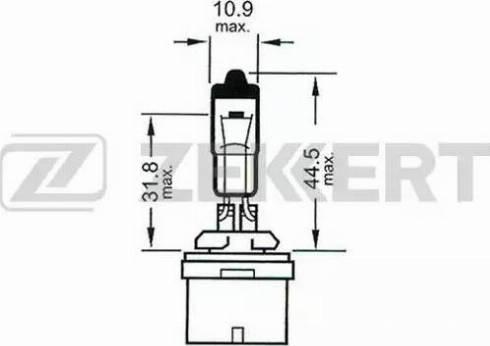 Zekkert lp-1060 - Лампа накаливания, фара с авт. системой стабилизации autodnr.net