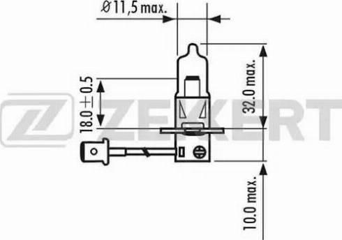 Zekkert lp-1139 - Лампа накаливания, фара с авт. системой стабилизации autodnr.net
