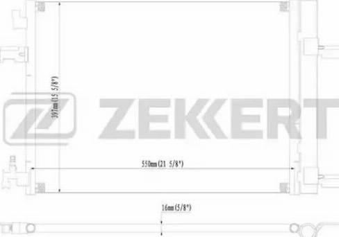 Zekkert mk-3004 - Конденсатор, кондиционер autodnr.net