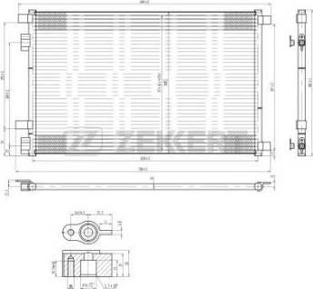 Zekkert mk-3045 - Конденсатор, кондиционер autodnr.net
